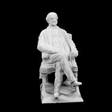 Georges Peabody, Royal Exchange, London
