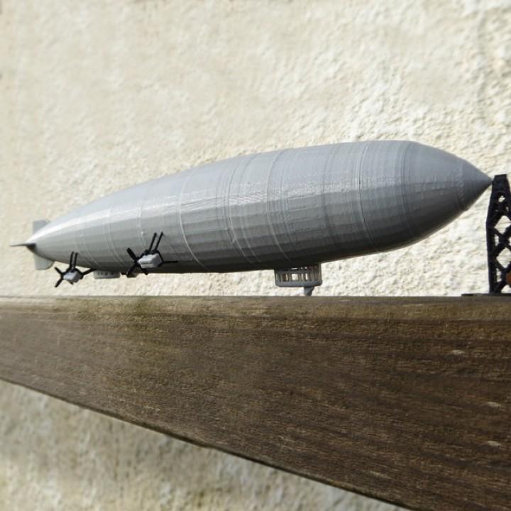 Hindenburg Airship LZ 129
