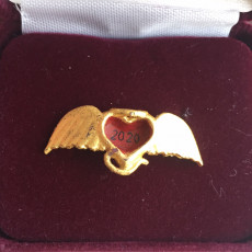 Picture of print of Angel Heart Pendant