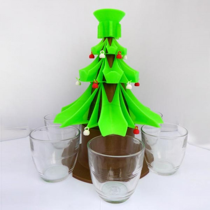 Christmas Tree Drinks Dispenser