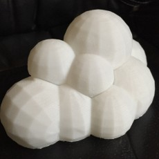 Picture of print of Low Poly Cloud Storage