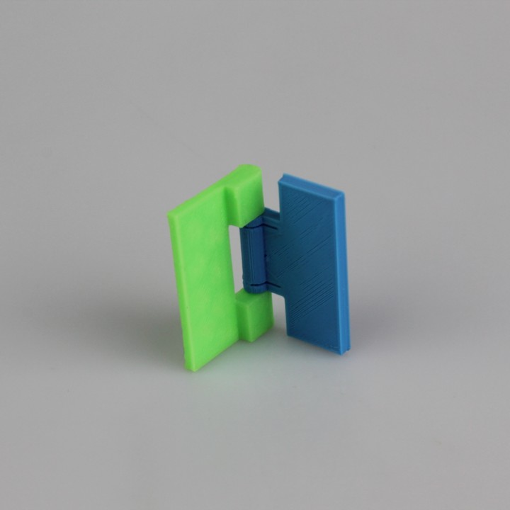 3d Printable Snap Fit Hinge By Kirby Downey