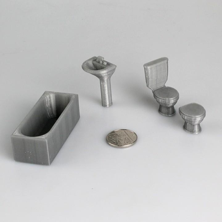 Bathroom Scale Models (Set 2)