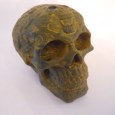 Picture of print of BADASS SKULL