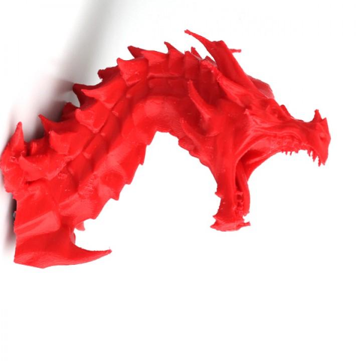 Alduin dragon Bust