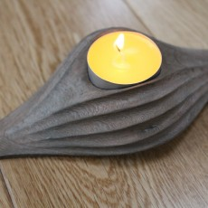 Picture of print of Wave Tealight Candle Holder Questa stampa è stata caricata da Saxon Fullwood
