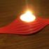 Wave Tealight Candle Holder print image