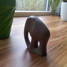 Picture of print of Elephant statue This print has been uploaded by Didier Klein