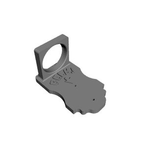 3d printable wall mount beer bottle opener with cap