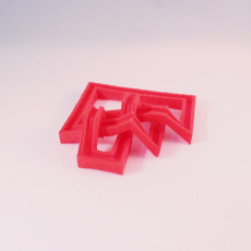 Picture of print of Escher knot
