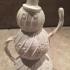 Decorative Snowman print image