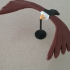 Crystal Balancing Bird print image