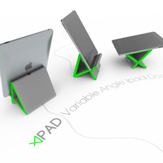 Apad: a Variable Angle Ipad Dock