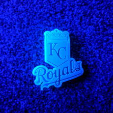 Picture of print of KC Royals Logo 这个打印已上传 Blake