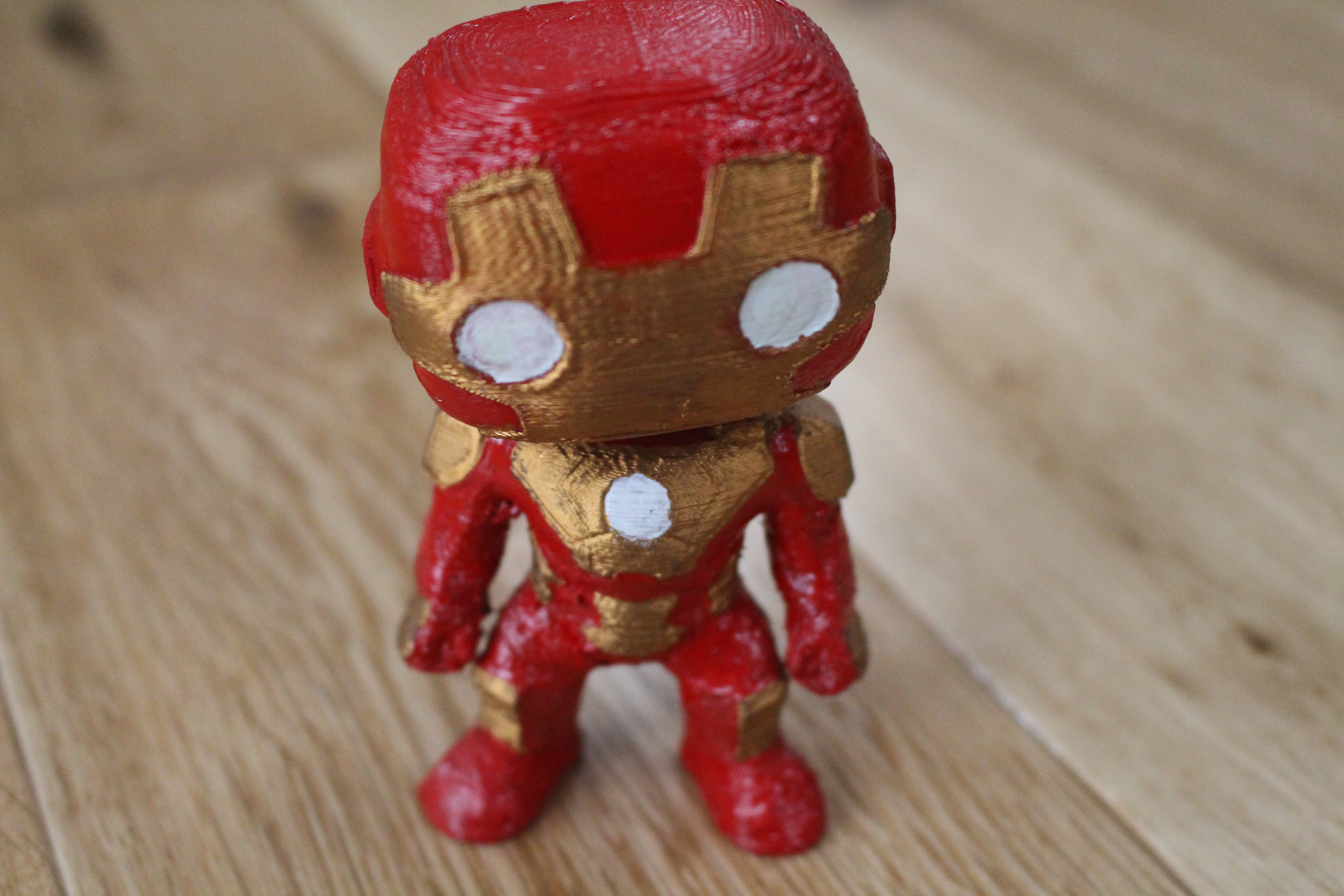 picture of print of iron man marvel bobble head heroes this print has