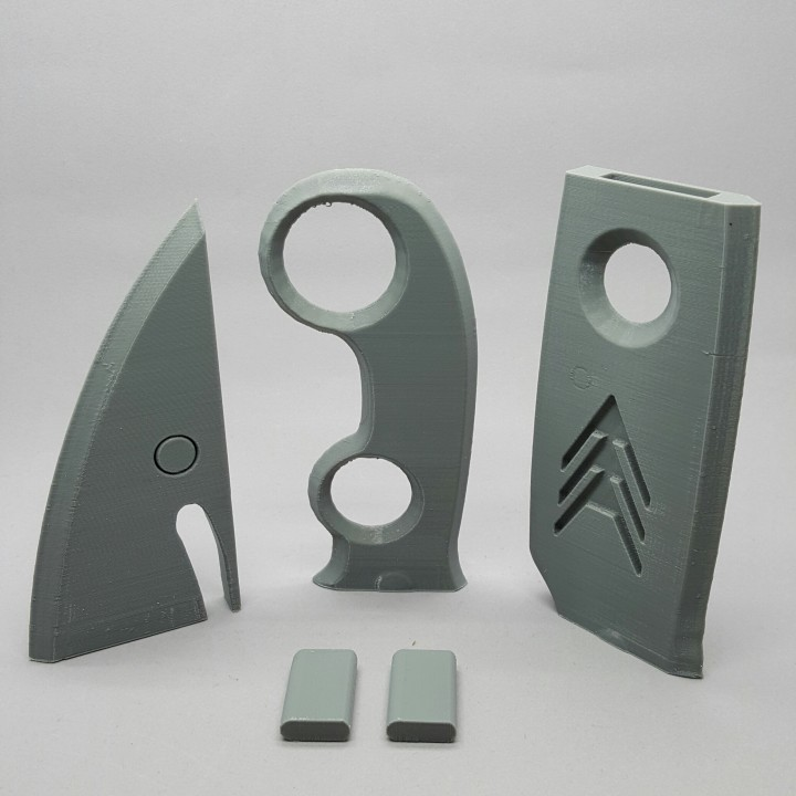 Picture of print of Destiny Hunter Knife This print has been uploaded by Spectra3D Technologies
