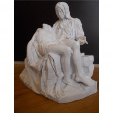 Picture of print of Pieta in St. Peter's Basilica, Vatican This print has been uploaded by Fragnières Emmanuel