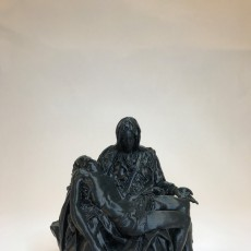 Picture of print of Pieta in St. Peter's Basilica, Vatican