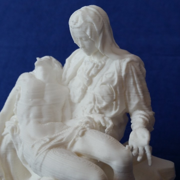 Picture of print of Pieta in St. Peter's Basilica, Vatican This print has been uploaded by Dominik Marnet