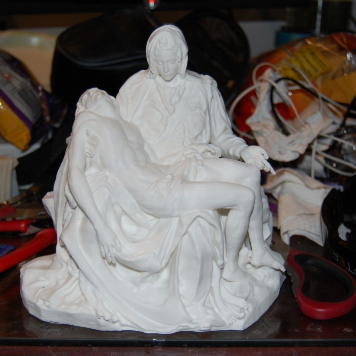 Picture of print of Pieta in St. Peter's Basilica, Vatican This print has been uploaded by Derrick Martinez