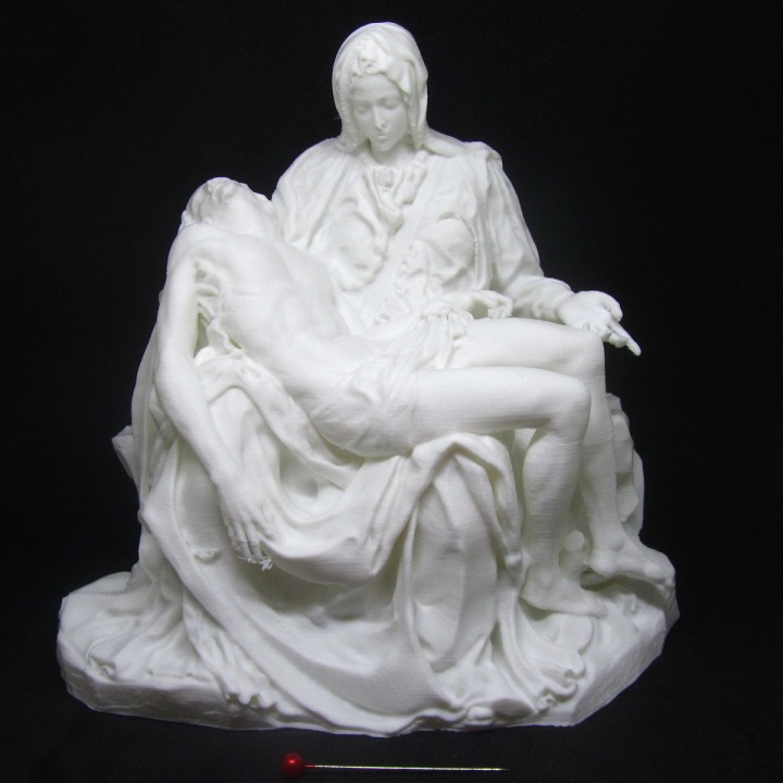 Picture of print of Pieta in St. Peter's Basilica, Vatican This print has been uploaded by Paulo Ricardo Blank
