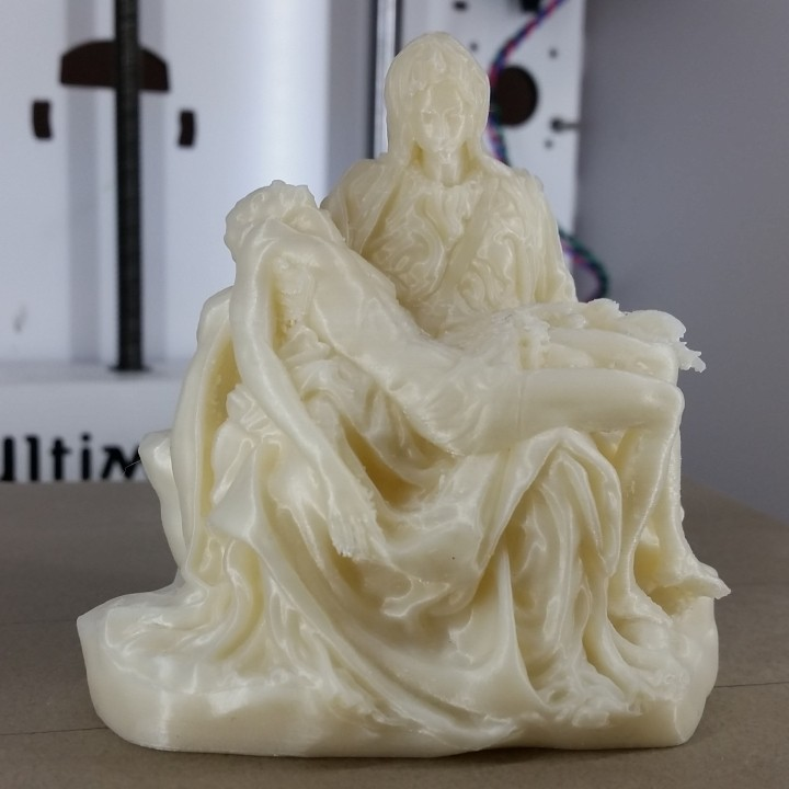 Picture of print of Pieta in St. Peter's Basilica, Vatican This print has been uploaded by EAGLE3D TECH