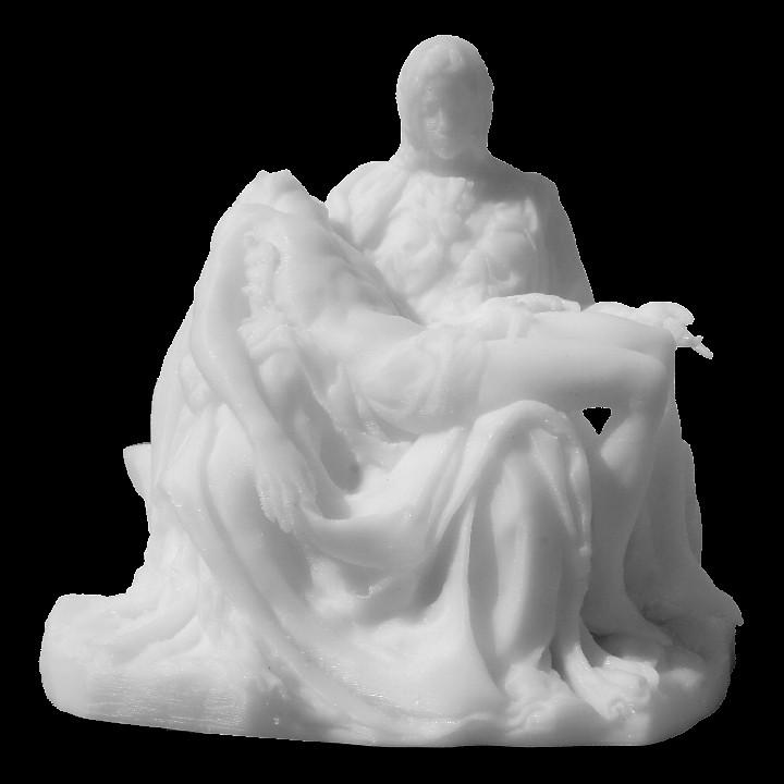 Picture of print of Pieta in St. Peter's Basilica, Vatican This print has been uploaded by Taco Breeschoten