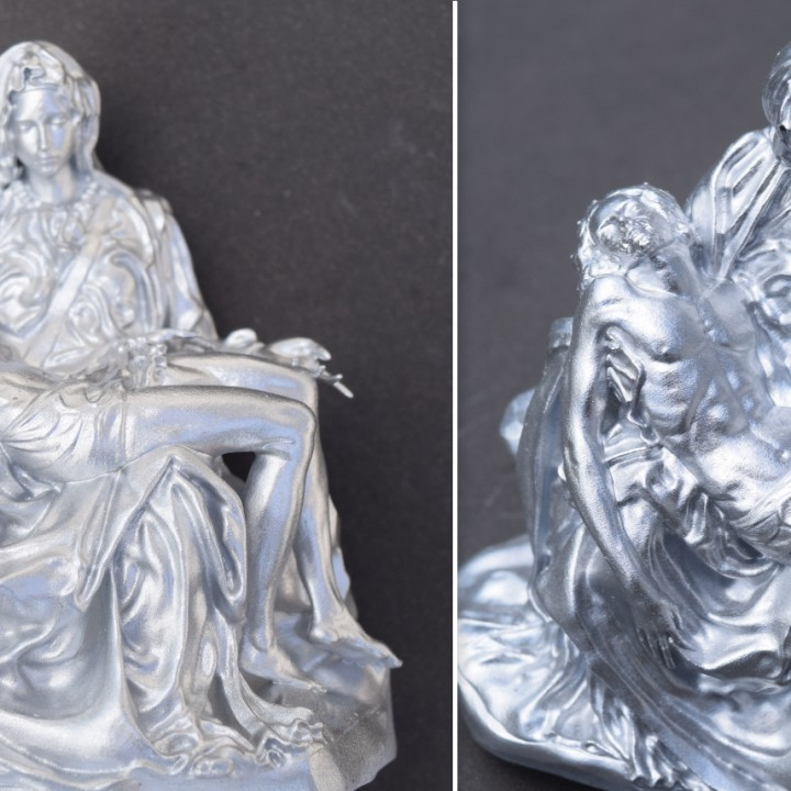 Picture of print of Pieta in St. Peter's Basilica, Vatican This print has been uploaded by Telemetry Invoine