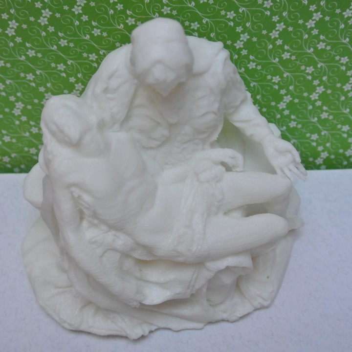 Picture of print of Pieta in St. Peter's Basilica, Vatican This print has been uploaded by BlazP