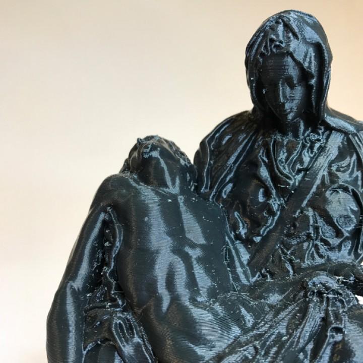 Picture of print of Pieta in St. Peter's Basilica, Vatican This print has been uploaded by Mert Kütükoğlu