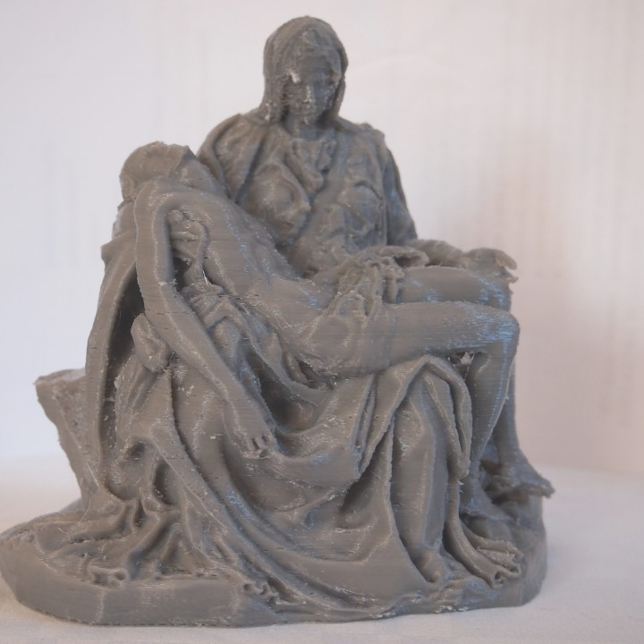 Picture of print of Pieta in St. Peter's Basilica, Vatican This print has been uploaded by Marc P.