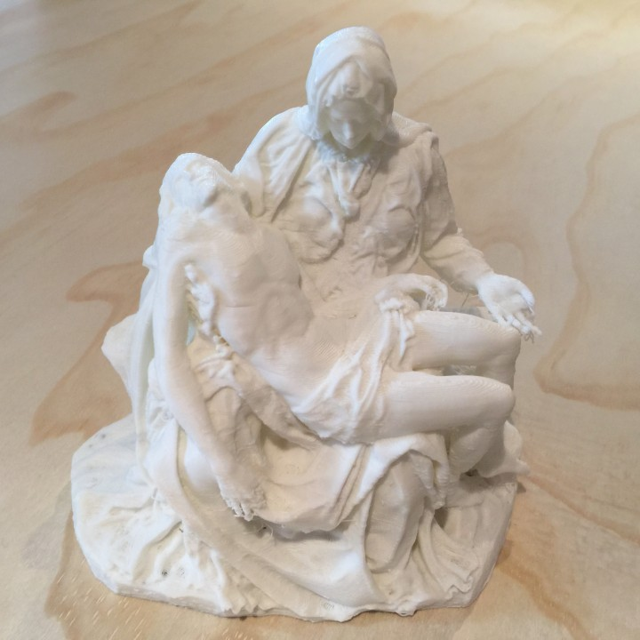 Picture of print of Pieta in St. Peter's Basilica, Vatican This print has been uploaded by Tyler Harris