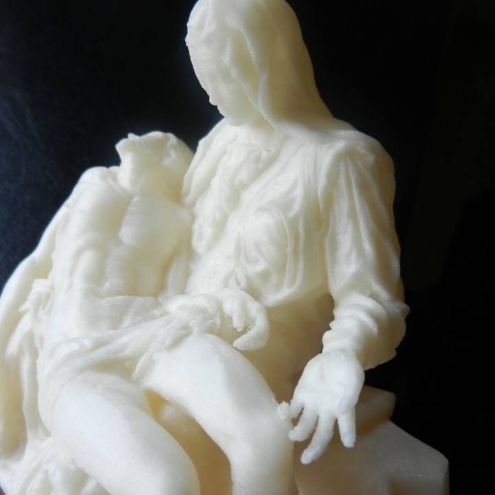 Picture of print of Pieta in St. Peter's Basilica, Vatican This print has been uploaded by Jonas Holtermann