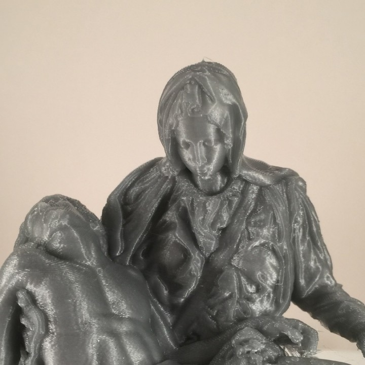 Picture of print of Pieta in St. Peter's Basilica, Vatican This print has been uploaded by Christian Temple