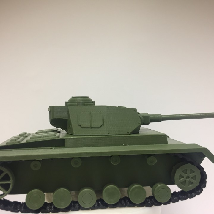 German Panzer IV Model kit