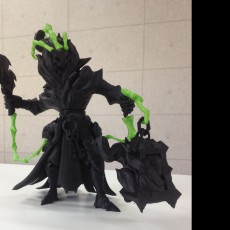 Picture of print of Thresh - league of legends 这个打印已上传 unknown