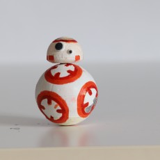 Picture of print of Star Wars - The Force Awakens - BB8 Droid