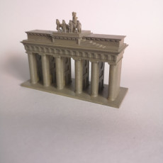 Picture of print of Brandenburg Gate (Simple)