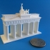 Brandenburg Gate (Simple) print image