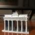 Brandenburg Gate (Simple) print image