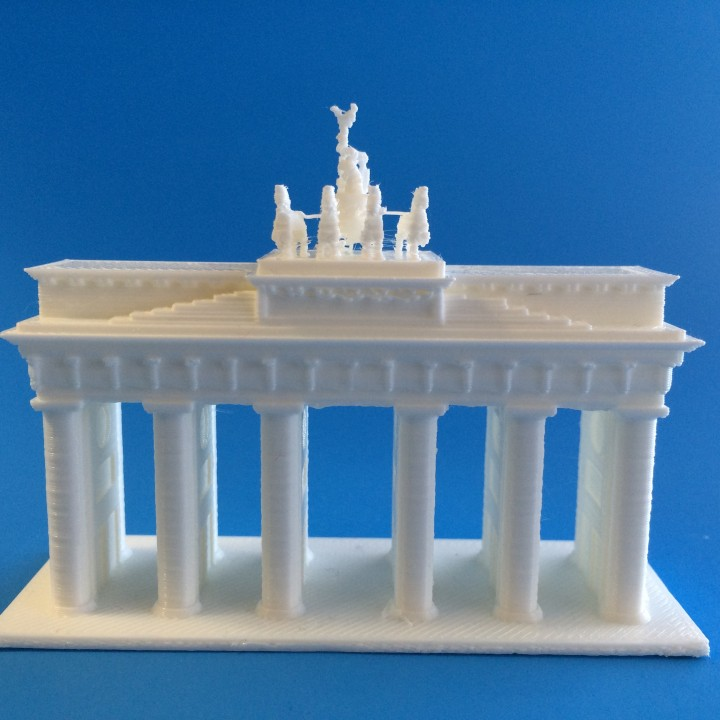 Picture of print of Brandenburg Gate This print has been uploaded by MiniWorld