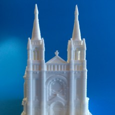 Picture of print of Sioux Falls Cathedral, South Dakota USA 这个打印已上传 MiniWorld 3D