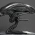 Alien bust print image