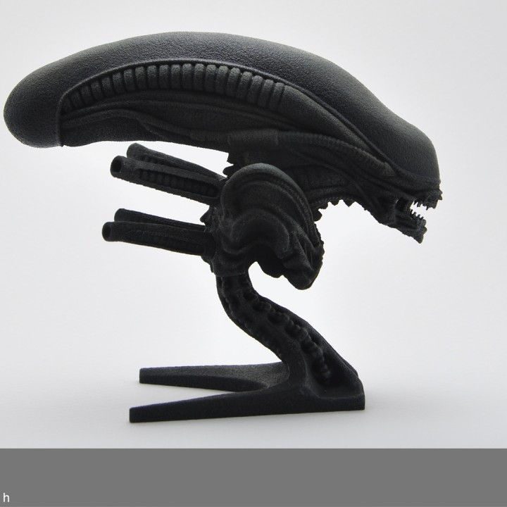 Picture of print of Alien bust This print has been uploaded by James Morgan