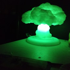 Picture of print of Nuke Lamp with stand (lamp base)