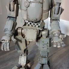 Picture of print of Titanfall Atlas Mech Action Figure This print has been uploaded by Kevin Paterson