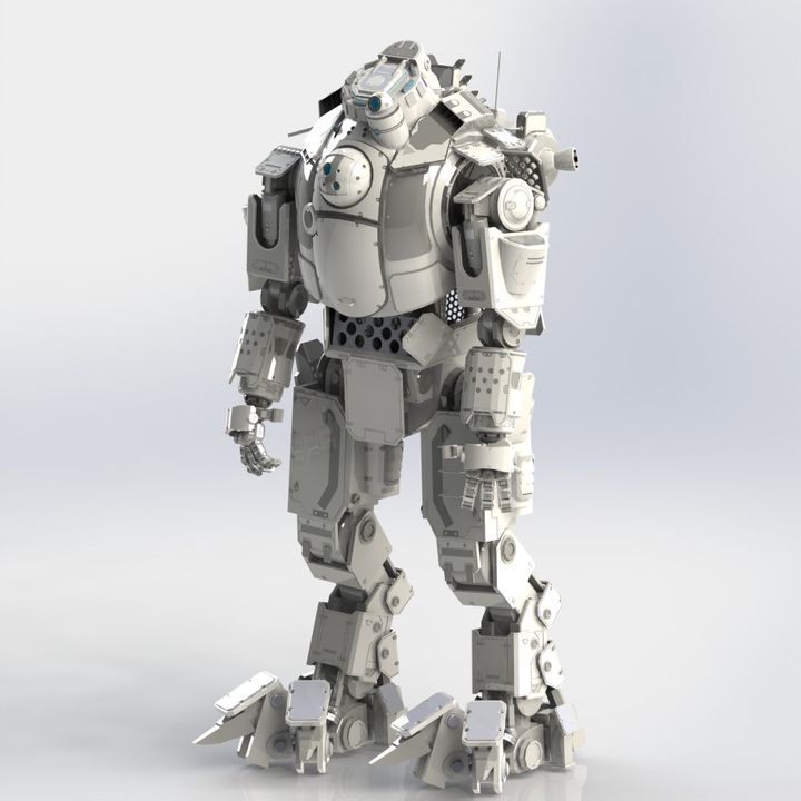 Titanfall Atlas Mech Action Figure