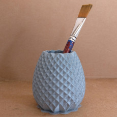 Picture of print of Pineapple Pen Holder