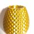 Pineapple Pen Holder print image