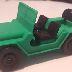Picture of print of Jeep (Willys MB)